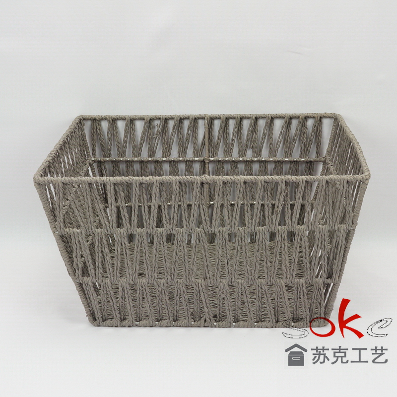 Best price for paper rope storage basket